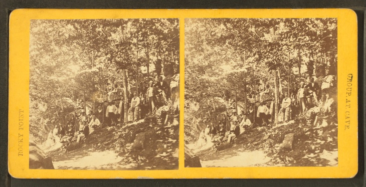 Group_at_cave,_from_Robert_N._Dennis_collection_of_stereoscopic_views